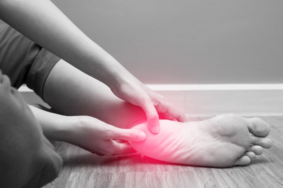Effects of Extracorporeal Shock Wave Therapy on Numerical Rating Scale of Pain in Patients with Chronic Plantar Fasciitis